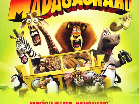 """Cirko šou """"Pabėgimas iš Madagaskaro"""" Skuode"""
