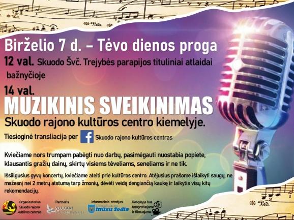 Tėvo dienos koncertas Skuode