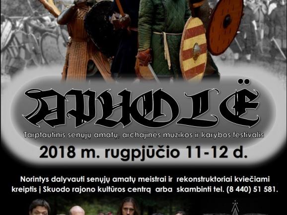 """Registracija į festivalį """"Apuolė"""""""