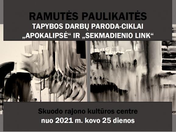 Ramutės Paulikaitės tapybos darbų paroda Skuode