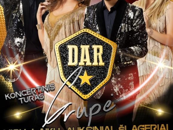 Grupės DAR koncertas Skuode perkeliamas į 2021